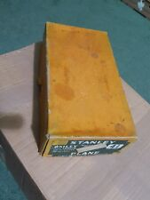 stanley bailey 4 1/2 plane iron smooth 2 3/8 in cutter 10 in long
