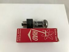 Triad 6SN7 vintage vacuum tube new old stock rare made in Japan
