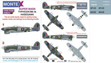Montex #K48272 1/48 Hawker Typhoon Mk.Ib Paint Mask for Hasegawa