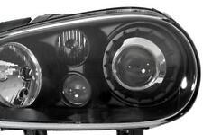 R32 GUARDA Nero Proiettore Fari con ASTUZIE - 1 Paio-VW Golf mk4