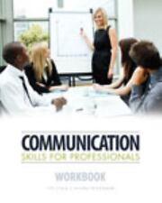 Communication Skills for Professionals Workbook, SCALA  JILL, TEITELBAUM  JEREMY