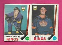 1969-70 OPC KINGS JIMMY PETERS RC  + BILL FLETT   CARD (INV# C5943)
