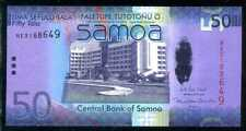 WESTERN  SAMOA  50 TALA  ND (2008) 2017  P 41c   Prefix RE   Uncirculated