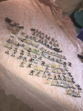 Britains Ltd Lot 115Pieces With Canon Horses& KettenRad  With Extra Cyclelist