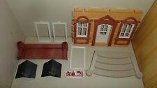 Playmobil Nostalgie Puppenhaus 5300 5305 Eingangstreppe Balkon Fenster Tür Gaube