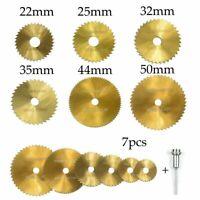 rotary - tool hss - sägeblatt edelstahl holz runden scheiben schneiden a bohren