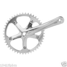 Origin8 Single Speed SS Track Fixed Gear Fixie Crank set 165mm 46t Silver
