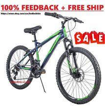 "Huffy 24"" Nighthawk Boys' Mountain Bike Blue and Green 24 inch FAST + FREE SHIP"