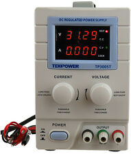 New Tekpower Tp3005t Digital Variable Dc Power Supply 30 Volts 5 Amps With Lock