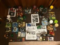HUGE lego bionicle technic chima lot 25 sets, nearly all are 100% complete