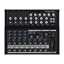 Mackie Mix12FX 12-Channel Live Studio Compact Mixer w Built In Effects