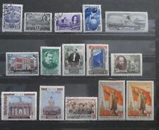 TIMBRES RUSSIE - URSS lots datant de 1945 à 1957 (A112)