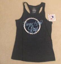 NEW MLB Tampa Bay Rays Baseball Girls Youth Tank Top Shirt M Medium 10 12 NWT