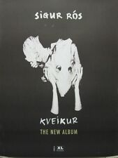 SIGUR ROS 2013 KVEIKUR promotional BIG poster New Old Stock Flawless Condition
