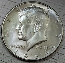 1964 Kennedy Half Dollar Gem UNC Coin