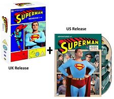SUPERMAN  1-6 (1952-1958) THE COMPLETE ADVENTURES OF Original Series 2x DVD Sets