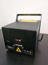 3W RGB Showlaser Club 3000mW 40kpps full diode ILDA DMX AUTO flightcase laser