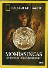 National Geographic-Momias Incas -Secretos de Un Imperio Perdido-DOCUMENTAL-DVD