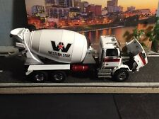 Diecast Masters 1:50 Scale Western Star 4700 SB Two Axle Mixer Truck - White/Whi