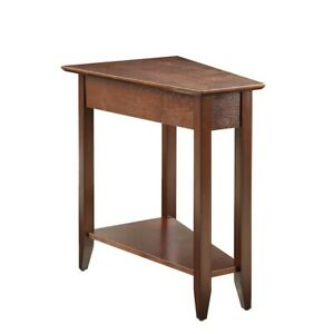 Convenience Concepts American Heritage Wedge End Table , Espresso - 7105060-ES
