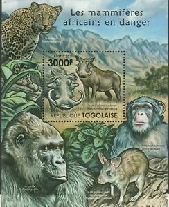 Animals Africa Togo Mint 2741
