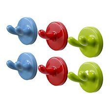 6 x IKEA KROKIG per bambini Multicolore Muro Ganci/Staffe ideale per le chiavi/Cappotti/Giocattoli