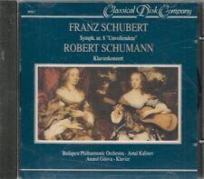 CD CLASSIQUE--FRANZ & ROBERT SCHUBERT--SYMPHONIE N° 8