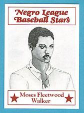 Fritsch Negro League Baseball Stars Singles: #28 Moses F. Walker