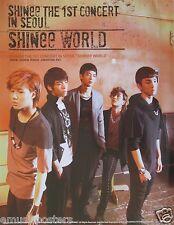 "SHINEE ""SHINEE WORLD 1ST CONCERT"" ASIAN PROMO POSTER - K-Pop, R&B, Dance Music"