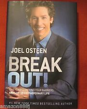New Joel Osteen Signed Break Out! 5 Ways to Go Extraordinary Life Book 1/1 HC DJ