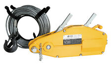 800kg Wire Rope Winch with 20 metre Rope
