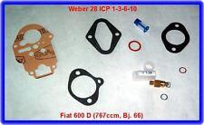 Fiat 600 D,767ccm,Weber ICP 1-3-6-10,Rep.Kit