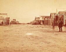 TOMBSTONE STREET SCENE PHOTO OK CORRAL WYATT EARP OLD WILD WEST 1880  #21216