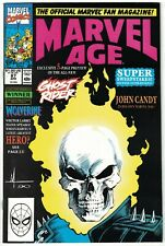 Marvel Age #87 VF; Marvel   Danny Ketch Ghost Rider Preview