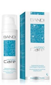 Bandi Professional Hydro Care Moisturising and Soothing Night Sleeping Pack 75ml