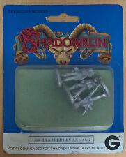 Grenadier Models Shadowrun - 1318 Leather Devils Gang (MiB, Sealed)