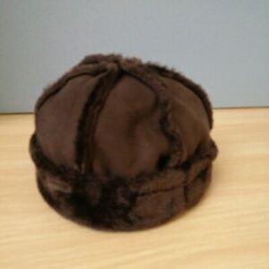 Vintage Damart Brown Faux Fur Ladies Hat