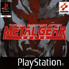 NEUF sous blister Metal Gear Solid version FR Sony PlayStation PS1 PSX