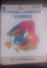 LIBRO PAPERINO NEL LABIRINTO DELL'ECONOMIA VOL 4 LA DISTRIBUZIONE IL SOLE 24 ORE