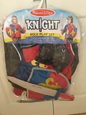 MELISSA & DOUG KNIGHT ROLE PLAY SET COSTUME THEATRICAL AGES 3-6 NEW