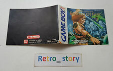 Nintendo Game Boy Wizards & Warriors X Notice / Instruction Manual