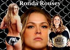 """019 Ronda Rousey - UFC Womens Bantamweight Champion 20""""x14"""" Poster"""
