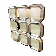 Unbranded Square Decorative Mirrors with Wall-Mounted