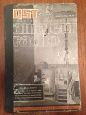 Vintage QST Amateur Radio American Magazines - 3 Issues In Book, July-Sept 1944