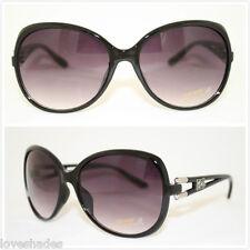 New Womens DG Sunglasses Fashion Designer Shades Eyewear Black Large Vintage UV