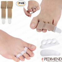 PEDIMEND™ Hammer Toe Straightener (Fabric & Silicone Gel) - For Overlapping Toes