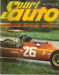 SPORT AUTO 79 1968 GP HOLLANDE GP DE FRANCE MERCEDES 280 SL FIAT 850 SPORT COUPE