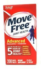 Schiff Move Free Joint Health Advanced W/ Glucosamine & Chondroitin, 200 Tablets