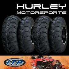 ITP Mud Lite AT 23x8x11 Front 56A304 - 24x9x11 56A3A9 Rear ATV Tires - Set of 4