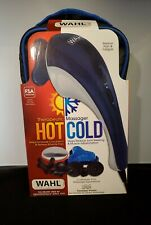 New Sealed Wahl Hot/Cold Therapy Custom Body Massager 4126 Variable Speeds Case
